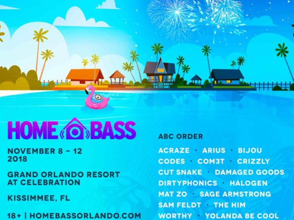 Home Bass 2018 Flyer