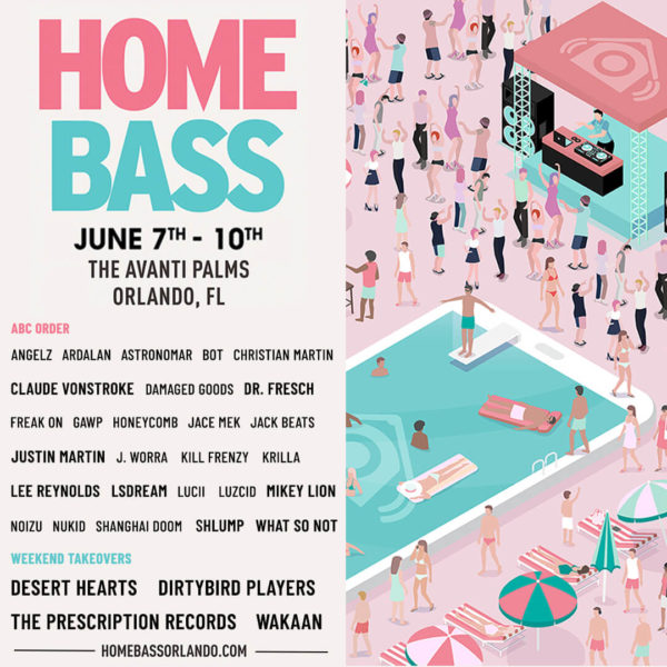 Home Bass Summer 2019 Flyer